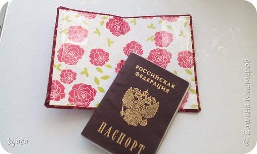 Мои рукоделочки. Обложки для паспорта с вышивкой крестиком и бисером фото 9