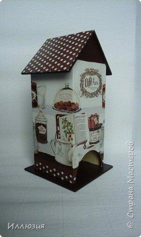Домики для чайных пакетиков фото 1