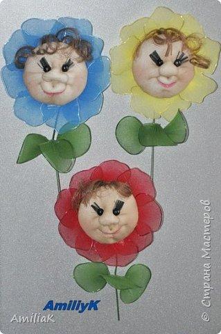 Сделала маленькие подарочки к 8 марта для девочек на работе были очень рады, только осваиваю технику изготовления игрушек и кукол из капрона, вроде бы получилось?Делала по мк Елены Ауловой , только волосики добавила и вместо глазенок полубусины фото 3