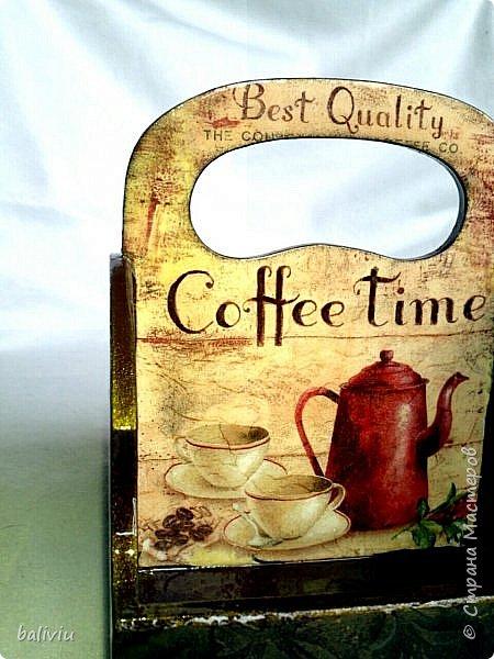 Здравствуйте дорогие мастерицы вот завершила еще один подарок к 8 марта,в одну половинку поставлю кофе а в другую конфеты фото 3