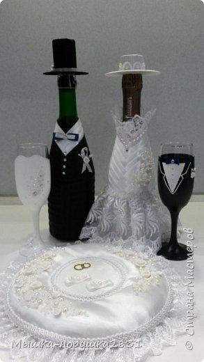 Поступил заказ на классическую свадьбу в черно-белых тонах.  фото 1
