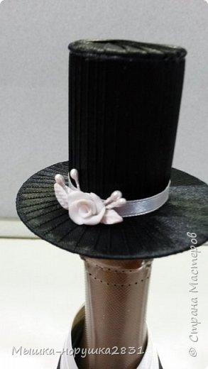 Поступил заказ на классическую свадьбу в черно-белых тонах.  фото 6