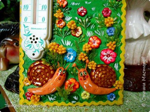"""""""Важней всего погода в доме"""" Украшаем обычный комнатный термометр.  фото 3"""