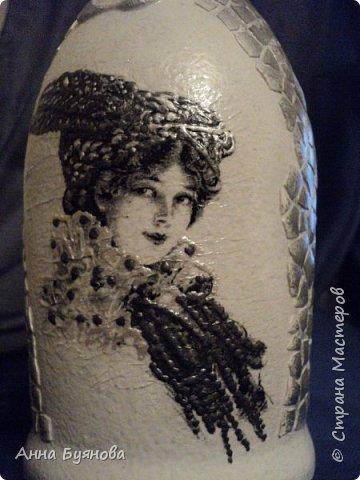 Бутылка по мотивам  шаманских легенд в картинах Сьюзен Седдон Булет. Подарок мужу. фото 9