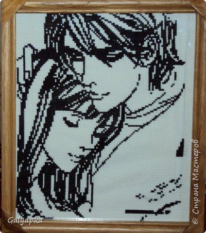 """Схемы этих двух пар взяты из журнала """"Вышивка крестом"""" фото 2"""