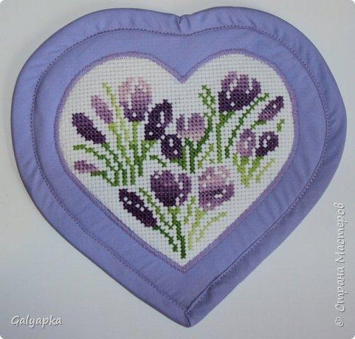 Эти цикламены вышивала маме в подарок в 2010г. схемы их журнала по вышивке фото 10
