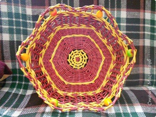 Шестиугольная фруктовница фото 2