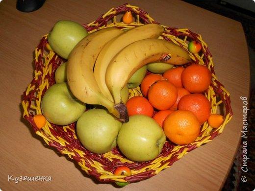Шестиугольная фруктовница фото 4