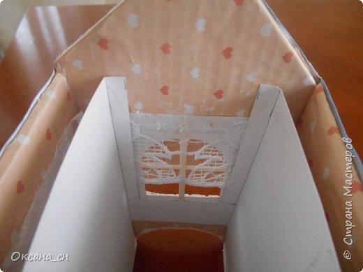 Здравствуйте Мастера и Мастерицы! Хочу поделиться новым изделием и небольшим МК. Когда пришла идея создать домик для чайных пакетиков, я стала искать в интернете идеи для оформления. Сколько прекрасных домиков я видела!  Я предложила своим ученицам создать такой домик в подарок маме к 8 Марта - прекрасная и полезная поделка для кухни. Спасибо Марине за идею оформления http://stranamasterov.ru/node/349655. Очень мне понравился её домик и я попробовала сотворить подобное. фото 4
