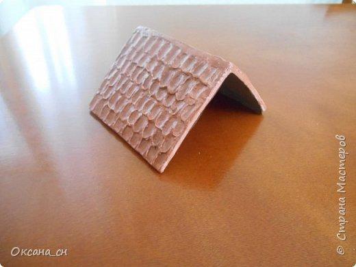 Здравствуйте Мастера и Мастерицы! Хочу поделиться новым изделием и небольшим МК. Когда пришла идея создать домик для чайных пакетиков, я стала искать в интернете идеи для оформления. Сколько прекрасных домиков я видела!  Я предложила своим ученицам создать такой домик в подарок маме к 8 Марта - прекрасная и полезная поделка для кухни. Спасибо Марине за идею оформления http://stranamasterov.ru/node/349655. Очень мне понравился её домик и я попробовала сотворить подобное. фото 11