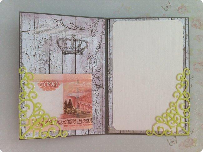"""Весенний кардмейкинг.  Заказы все раздала ( по условиям не могу показать), теперь творю  просто так:) Ой, нет, повод конечно есть, это 8 марта. Вот такая открытка со скворечником:) Бумага Fleur коллекция """"Цветы прованса"""", лист """"Старый забор"""" и горошки от ScrapBerry's (двухсторонняя) фото 3"""