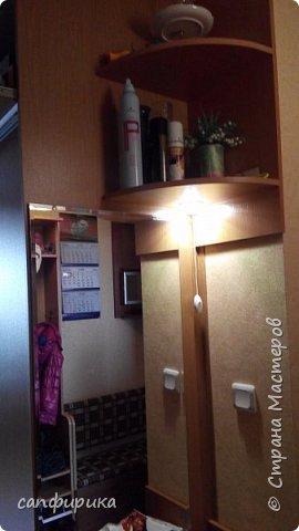 Первая работы папы. Диванчик в коридор. Сиденье поднимается. Внутри ящик для хранения тапок. фото 7