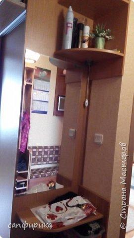 Первая работы папы. Диванчик в коридор. Сиденье поднимается. Внутри ящик для хранения тапок. фото 10