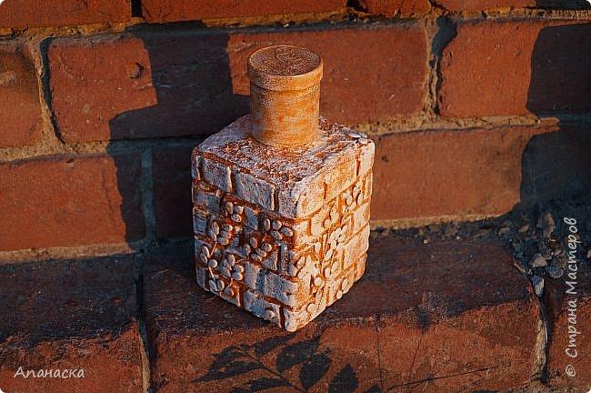 Декоративная бутылка фото 2
