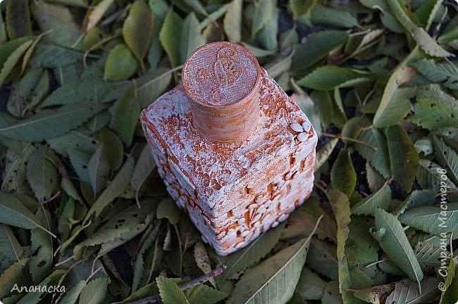 Декоративная бутылка фото 3