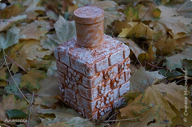 Декоративная бутылка фото 1