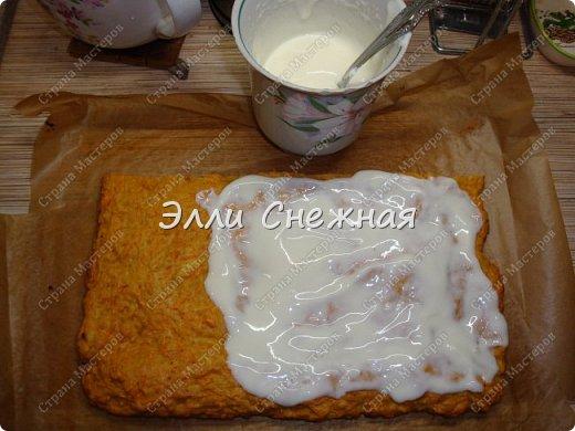 Захотелось к чаю чего нибудь необычного - надоели бисквитные торты со взбитыми сливками. И тут я вспомнила рецепт замечательного морковного торта, который я записала более 30 лет назад. Одноклассница угостила вкуснющим тортиком, а заодно и рецептом поделилась. А сегодня я делюсь с вами. фото 9