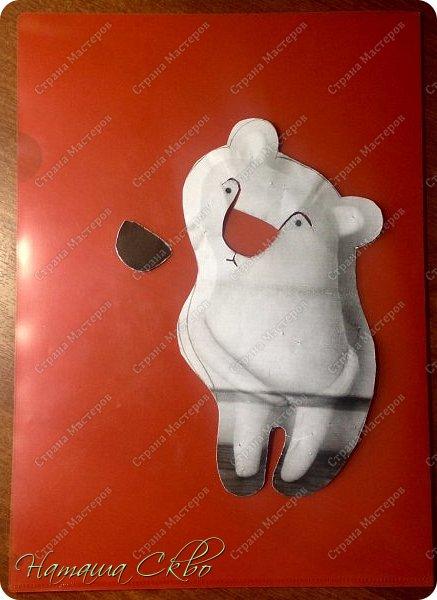 """Всем доброго времени суток! Недавно хвалилась своими ЗУДно- наХлыми котами (живут кошачьи здесь- http://stranamasterov.ru/node/998751)... А сегодня- моя очередная """"хотелка"""". Эта игрушка- примитив с названием """"Polar Bear Boris"""" попалась мне в Инете, поняла, что ОЧЕНЬ- ОЧЕНЬ- ОЧЕНЬ хочу себе Бореньку! фото 6"""