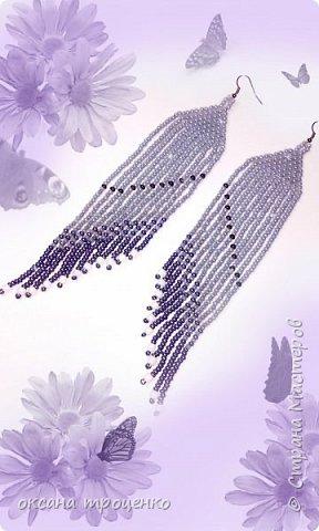 Подборка сережек из бисера фото 3