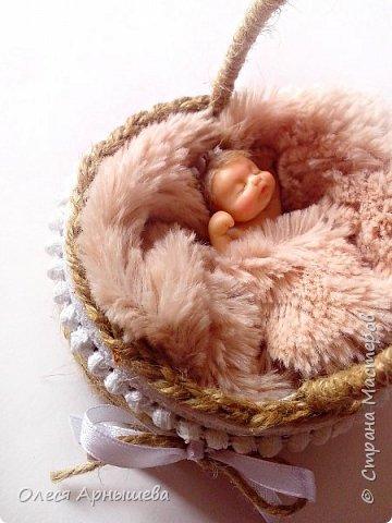 Младенец из полимерной глины фото 2