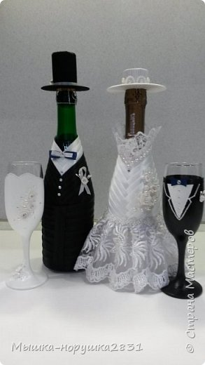 Поступил заказ на классическую свадьбу в черно-белых тонах.  фото 13