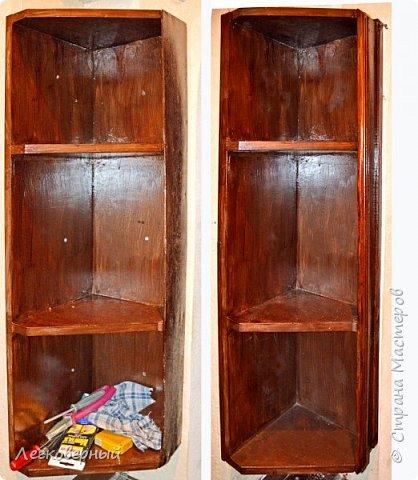 Есть у меня при входе в квартиру угол. И давно туда просились сделаться угловые полочки для обувных прибамбасов, тапок домашних, того. что вечно валяется где попало. Да и просто что-то положить-поставить-повесить принесённое из магазина было б куда, пока разуваешься.  фото 4