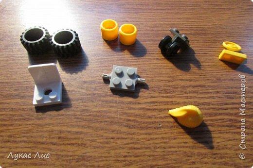 Для постройки мини мотоцикла нам понадобятся следующие детали !!!  фото 1