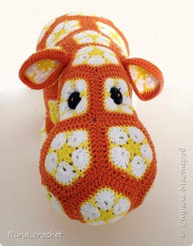 Мягкая игрушка из мотивов Африканский цветок фото 1
