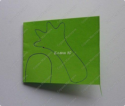 Предлагаю  смастерить очень простого  веселого лягушонка, пусть он себе квакает - поднимает настроение:) фото 13