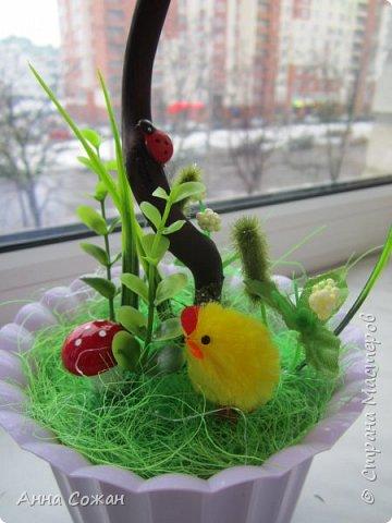 Всем доброго дня! Приглашаю Вас посмотреть мои подарки к 8 Марта! Деревья счастья, магнитики-топиарии и гнёздышки.  фото 2