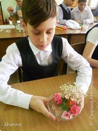 Автор композиции Анжела, ученица 5 класса. фото 6