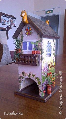 К празднику с коллегой Олей делали чайный домик, фото 1