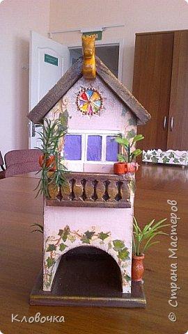К празднику с коллегой Олей делали чайный домик, фото 3