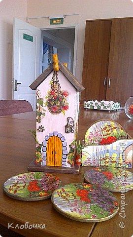 К празднику с коллегой Олей делали чайный домик, фото 4