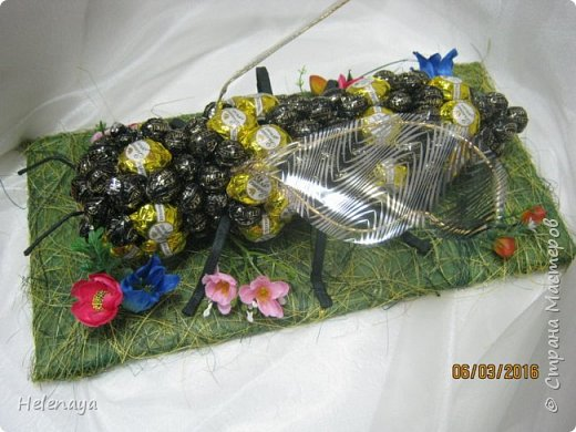 Пчела гигантская ))))) Подарок дедушке - пчеловоду. фото 2
