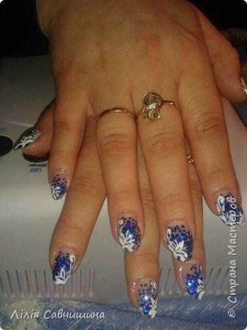 Мій перший досвід нарощування нігтів акрилом фото 2