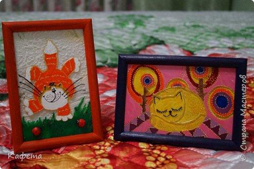 Весна навеяла и захотелось рисовать. В архивах интернета очень давно собраны были котики. Отыскала самых милых. фото 3