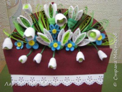 Доброе время суток жители Страны Мастеров !!!   Милые дамы, поздравляю Вас с праздником 8 марта !!!   Пусть Ваша жизнь будет такой же солнечной и теплой, как этот первый ,весенний месяц, Пусть в  Вашей душе всегда царит весна и праздник !!! фото 22