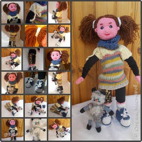 Куколки, которые нашли своих новых хозяев после выставки-ярмарки 13-14 февраля. Это Варя фото 3
