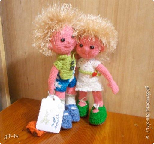 Куколки, которые нашли своих новых хозяев после выставки-ярмарки 13-14 февраля. Это Варя фото 8