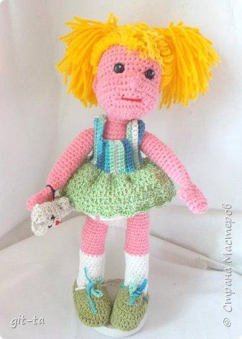 Куколки, которые нашли своих новых хозяев после выставки-ярмарки 13-14 февраля. Это Варя фото 2