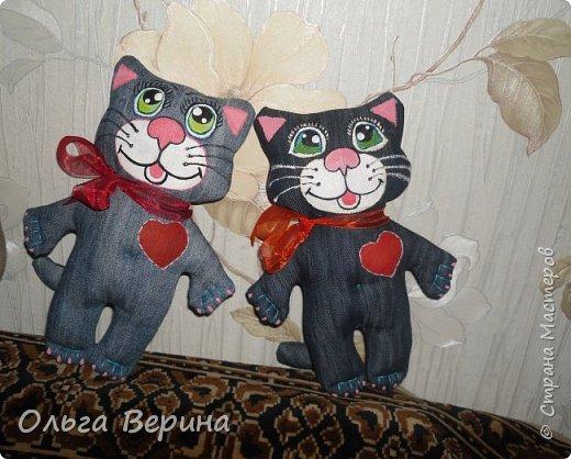 Котик,кошечка и игольница фото 1