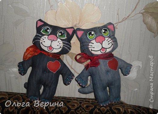 Котик,кошечка и игольница фото 2