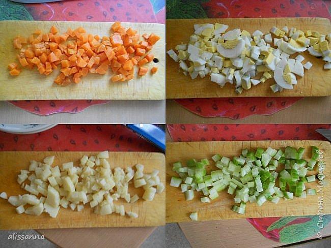 Доброе время суток....жители Страны....))))))) Предлагаю вашему вниманию вкусный и яркий салатик....))))))) В приготовлении очень прост...Итак...начнем-с...))) фото 3