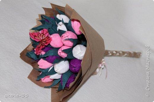 Подарочная корзина в нежном розовом цвете. фото 13