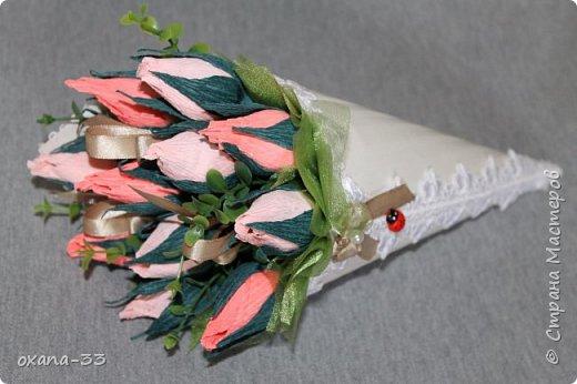 Подарочная корзина в нежном розовом цвете. фото 15