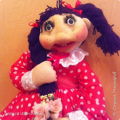 Каркасная кукла Глаша фото 4