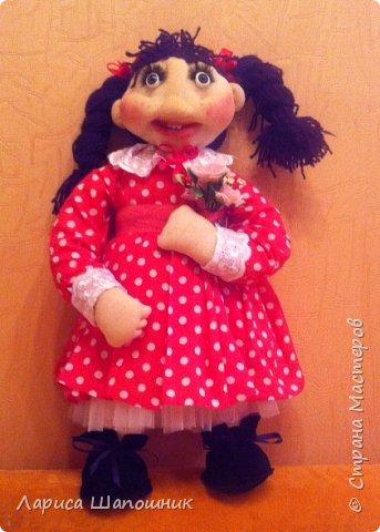 Каркасная кукла Глаша фото 3