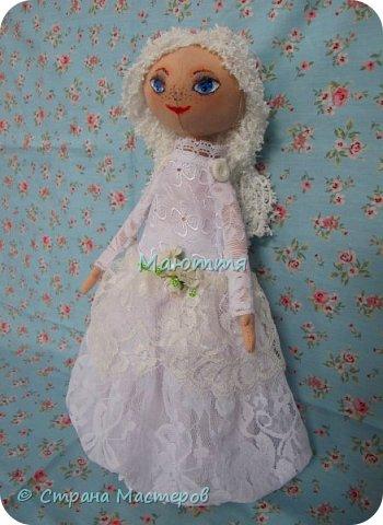 Давненько у меня не появлялись новые куколки.... И вот - знакомьтесь - Голубоглазая Девочка. Имени у нее пока нет, т.к. новая хозяйка сама даст ей имя.   Все подробности ниже. фото 2