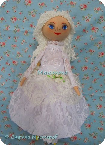 Давненько у меня не появлялись новые куколки.... И вот - знакомьтесь - Голубоглазая Девочка. Имени у нее пока нет, т.к. новая хозяйка сама даст ей имя.   Все подробности ниже. фото 1